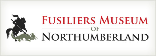 Fusiliers Museum of Northumberland logo design