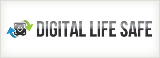 Digital Life Safe logo design