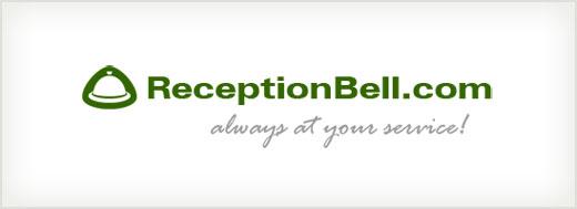 ReceptionBell.com logo design