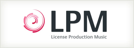License Production Music logo design