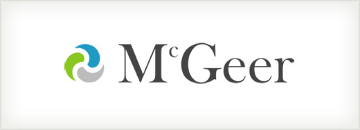 McGeer Employment Mediation logo design
