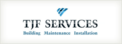 TJF Services logo design