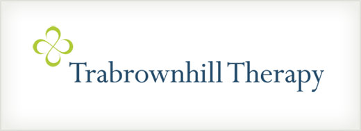 Trabrownhill Therapy logo design