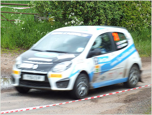Jim Clark Rally 2012, Cothill (near Duns)