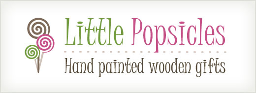 Little Popsicles logo design