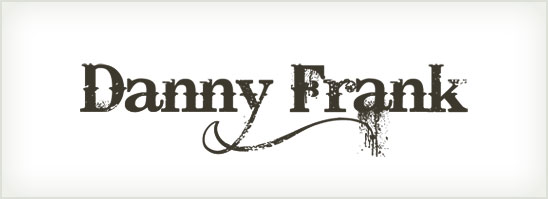 find out more about the Danny Frank logo design