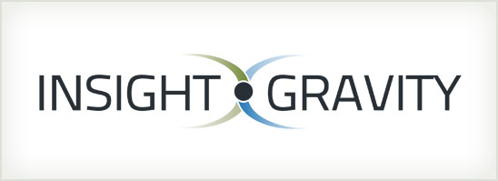 find out more about the Insight Gravity logo design