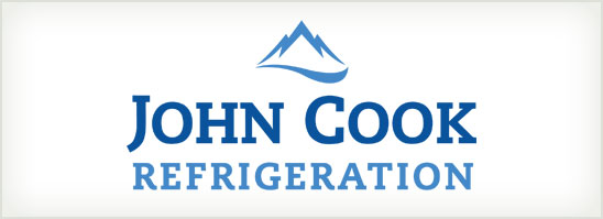 find out more about the John Cook Refrigeration logo design