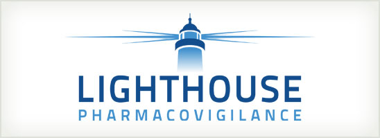 find out more about the Lighthouse Pharmacovigilance logo design