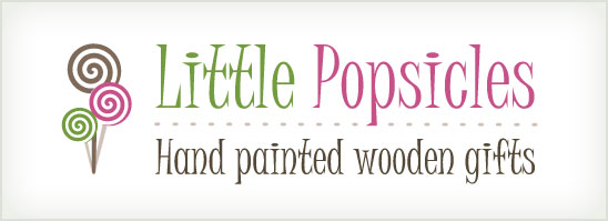 find out more about the Little Popsicles logo design