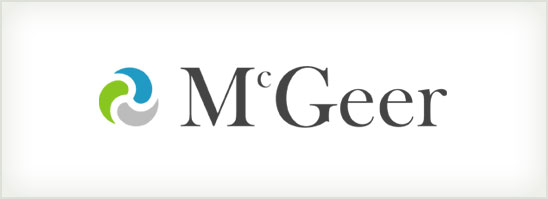 find out more about the McGeer logo design