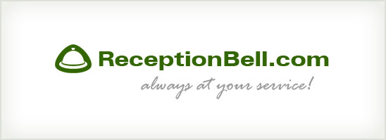 find out more about the ReceptionBell.com logo design
