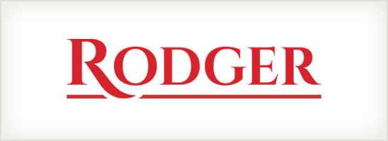 find out more about the Rodger logo design
