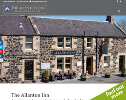 find out more about the Allanton Inn website design