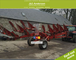 find out more about the J&S Anderson website design