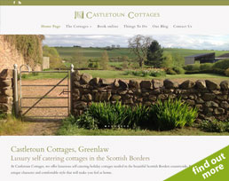 find out more about the Castletoun website design