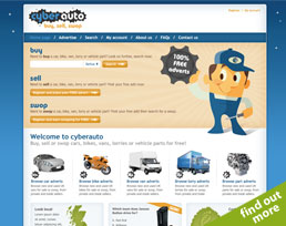find out more about the CyberAuto website design