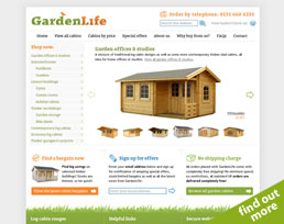 find out more about the GardenLife website design