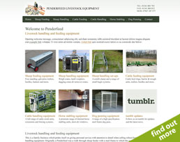 find out more about the Penderfeed website design