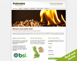 find out more about the Palmako Timber website design