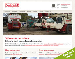 find out more about the Rodger website design