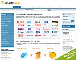 find out more about the Smarter Shop website design