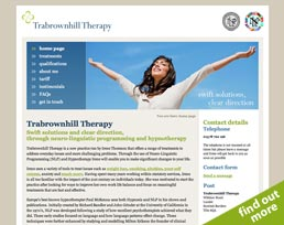 find out more about the Trabrownhill Therapy website design